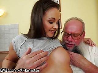 Sex Teen Brings Grandpa Used Panties