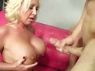 Hot Mature Busty Blonde Cougar #000NT