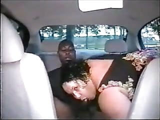 fucking bbw  in the car