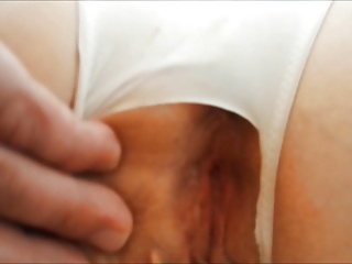 Teen doggy style pov close up panty