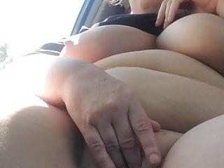 Stephanie DeWolfe rubs her pussy in Newport, Michigan