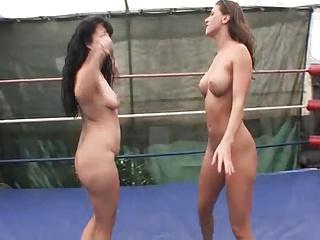 APL Lesbian Wrestling