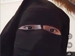 Tango live, private Moroccan girl Tanjawiya in a niqab, 3