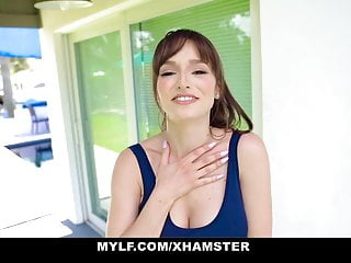 Busty Milf Gets Fucked in her chest By Young Stud