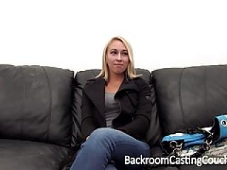 Skinny Blonde Anal Amateur Casting