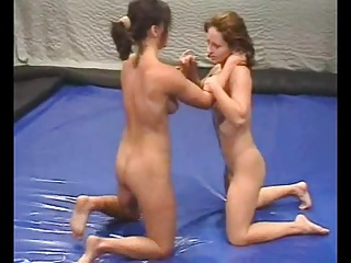 Real Naked Indoor Wrestling