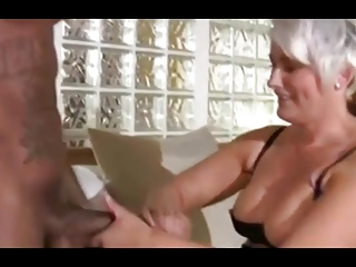 Hot Mature Brit Cougar Hops On Big One