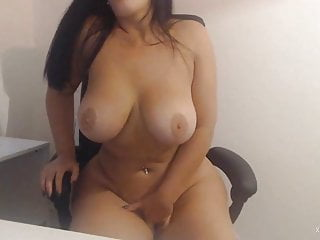 Webcam boobies