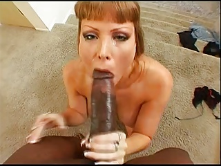Sexy Big Tits Darla VS BIG BLACK COCK