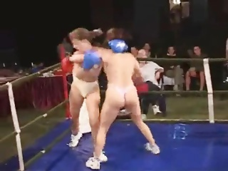 Real Topless Boxing (3)