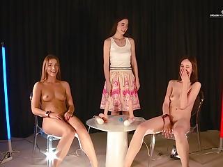 مسابقات قهرمانی جهان به اوج لذت جنسی: نوجوانان لاغر. الکسیس کریستال و