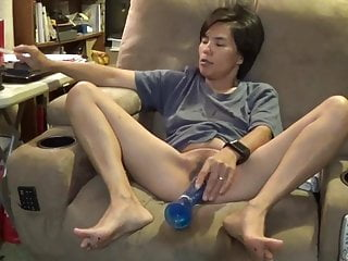 Hot Asian Wife orgasm
