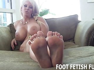 Your cock will get so hard when I show you my feet