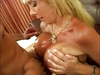 Hot Busty Mature Cougar Couch Fuck