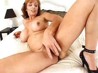 Hot Brunette Cougar Banged In Ass