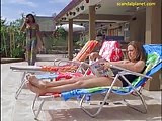Jessica Collins Nude Scene In The Ranch Series