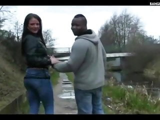 Filthy British Couple Go Dogging By The Canal