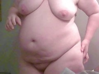 Mature Girlfriend getting Dressed Big Nipples