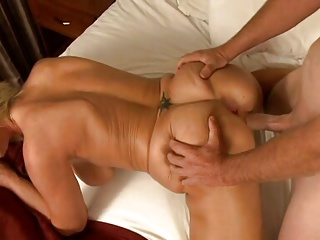 Blonde Busty Mom Gets Hardcore Fuck By Young Men