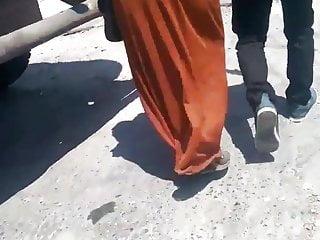 Turbanli hijab ass