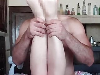 Sexy Fit Blonde Swallows Sperm After Intense Sex