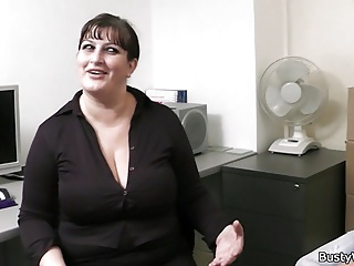 Big boobs working woman fucked from behind