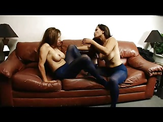 Pantyhose Sex Fight
