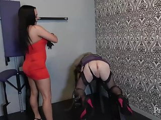 I will Destroy Your Ass - Mistress Chloe Lovette and Fist