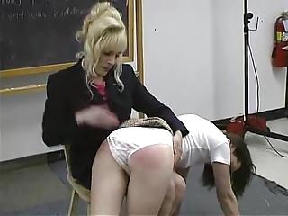 Class spanking